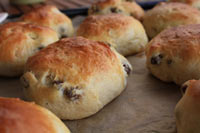 Rosinboller- Norwegian Raisin Buns