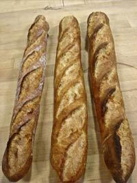 Comparison of Three Baguettes