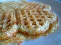 Cornmeal Whole Wheat Waffles