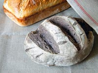 Cabernet Grape Flour Bread & Basic White Loaf
