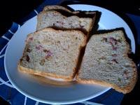 Pomegranate and Apple Bread
