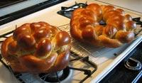 round challahs for Rosh Hashanah