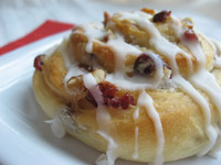 Cranberry Pecan Celebration Rolls