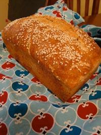 Multi-Grain Sourdough Sandwich Loaf