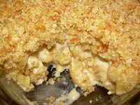 Mac and Cheese with Buttery Crumb Topping
