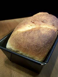 Stuten (a German sweet yeast bread)