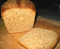 100% WW Sandwich bread w/ Homemade Sprouted Flour