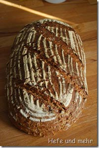 Multigrainbread with oat grains