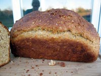 Crusty Multi Grain Sandwich Bread