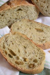 Pane al pesto - Pesto Bread
