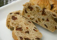 Cherry Walnut Whole Grain Celebration Bread