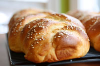 Wolfgang Puck's Challa bread