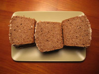 wholegrain spelt bread with whole grains