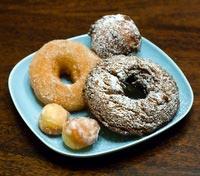 Yeast Doughnuts (and 2 kinds of cake doughnuts)