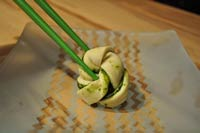 Chinese Flower Steam buns