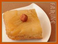 Pear & Ginger Hazelnut Cake