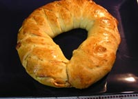 Marmalade and Cheese-Filled Braid
