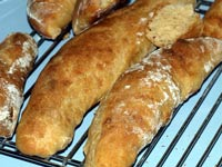 Pain a l'ancienne, with white whole wheat