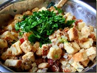 Gourmet Chestnut and Sausage Stuffing