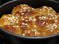 Maple Cornmeal Buttermilk Rolls