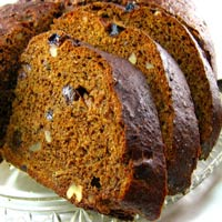 Old World Rye Bread with Raisins and Walnuts