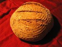 Whole Wheat Flax Sourdough