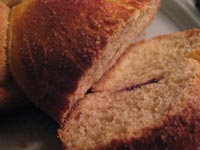 Whole Grain Cranberry Challah
