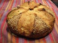 Oatmeal Sesame Bread