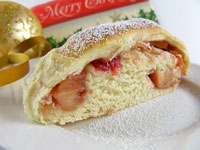 Apple-Cranberry Coffee Cake Wreath